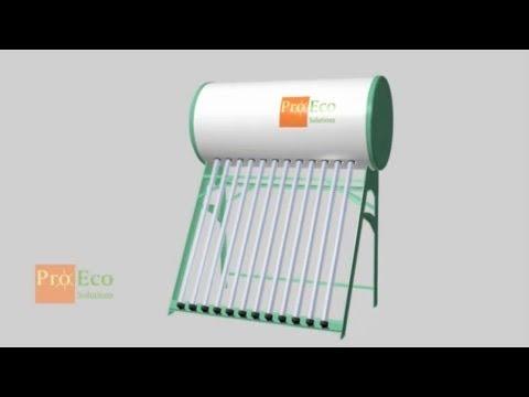Instrukcja montażu Słonecznego Podgrzewacza Wody z serii PROECO JNHP