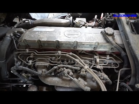 Hino K13C Engine View - YouTube