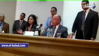 بالفيديو ..وزير الثقافة يعرض جهاز التصويت الالكتروني لجوائز الدولة