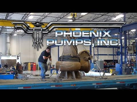 Wastewater Pump & Mixer Repair Services by Phoenix Pumps, Inc.