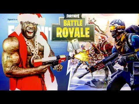 Fortnite Battle Royale w/ KALI MUSCLE:  HOLIDAY GRIND