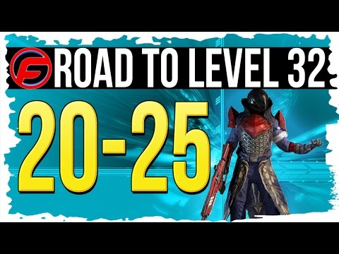 Destiny Walkthrough ROAD TO LEVEL 32 How To LEVEL UP SUPER FAST Level Up 20-25 PT8