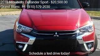 2018 Mitsubishi Outlander Sport LE 4dr Crossover for sale in
