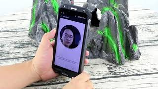 OUKITEL WP2 4G Phablet  IP68 Waterproof Smartphone Hands On Review - Face id