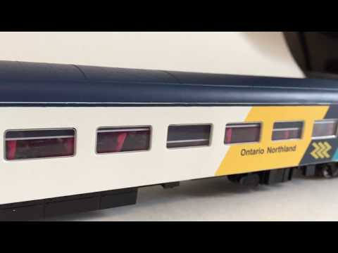 Rapido Ontario Northland review with other stuff.