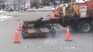 Infrared Asphalt Patching -  Winter Repairs