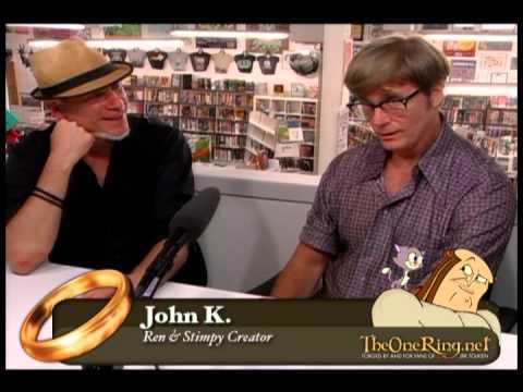 John K talks Ren & Stimpy, Mighty Mouse, Ralph Bakshi - FULL SHOW - TORn Tuesday