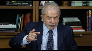 Entrevista de Lula para a Rede TVT