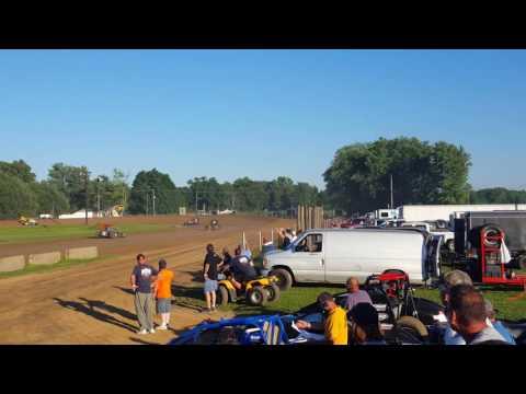 Heat 2 Paragon Speedway 7/16/16