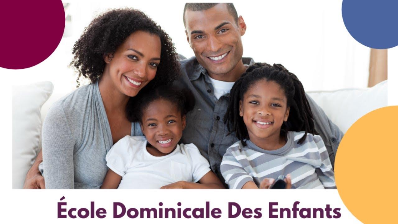 Ecole Dominicale Des Enfants [09 mai 2021]