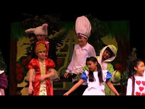 Mattias Johnson in Alice of Wonderland Play