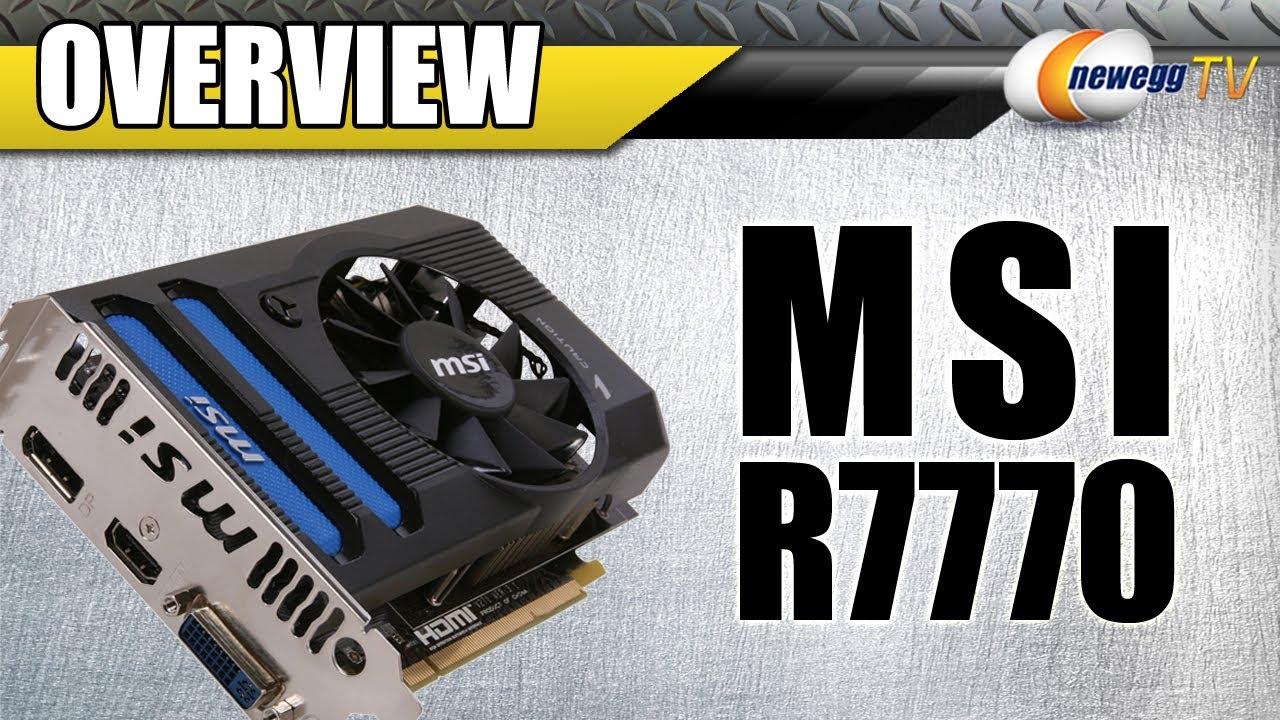 Newegg TV: MSI Radeon HD 7770 GHz Edition Video Card ...
