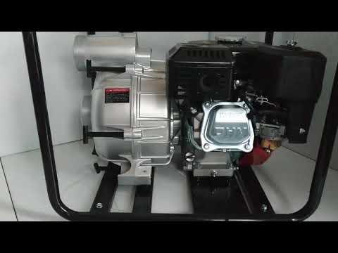 Грязевая бензиновая мотопомпа Weima WMPW 80 26