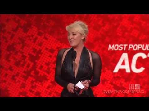 Logies 2014  Most Popular Actress  Asher Keddie