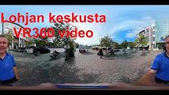 Lohjan keskustaa 360 asteen video