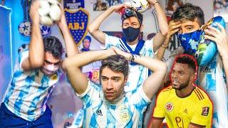 Reacciones de Amigos | Colombia vs Argentina