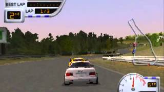 [PSX] Sports Car GT - Full Gameplay Part 1