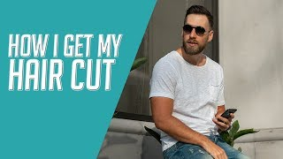 How I Get My Hair Cut    Clean Fade Side Part    How to Ask For a Haircut 2019