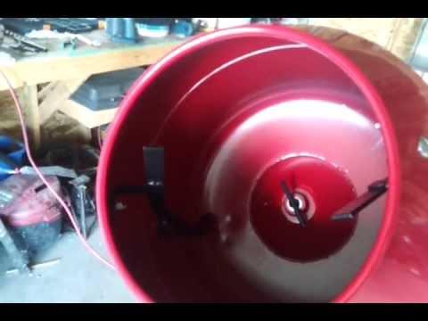 Pro Force Portable Cement Mixer P4