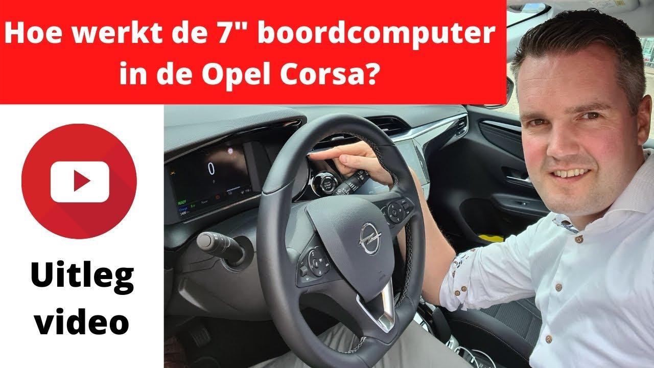 Hoe werkt de digitale cockpit in de Opel Corsa? - Uitleg video