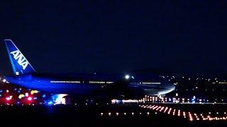 レンズテスト2 150mm F2.0 + 1.4×TELE CONVERTER ANA (All Nippon Airways) Boeing 777-281/ER JA715A