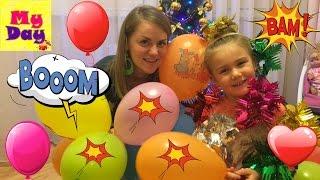 видео Воздушные шары на Новый Год