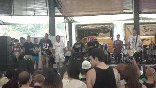 Man Overboard - Septemberism, Warped Tour 2012, Scranton PA