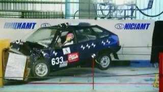Шок!!! Краш-Тесты Русских Авто: Ваз-2105, 2106, 2107, 2109, 2110, 2114, Иж-2126 (Москвич), Газ-3110