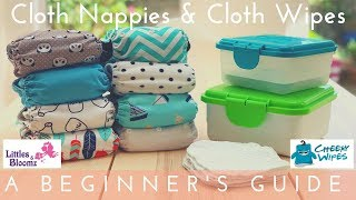 Switching to Cloth Diapers & Wipes | Littles & Bloomz & Cheeky Wipes | AD