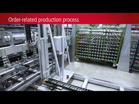 EN | Processing plant for PVC window profiles with Beckhoff control technology
