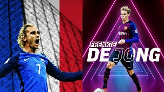 Frenkie De Jong and Antoine Griezmann | KGF VERSION | HD