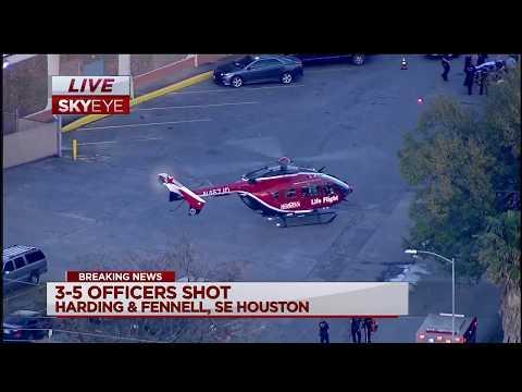 Five Houston police officers injured serving narcotics warrant [FULL COVERAGE]