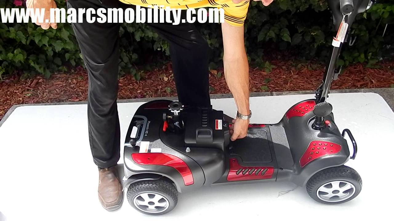 Drive Medical Phoenix HD 4 Wheel by Marc's Mobility