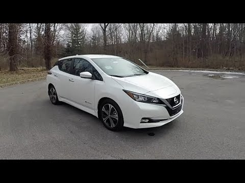2018 Nissan Leaf Sv Walk Around Video In Depth Review