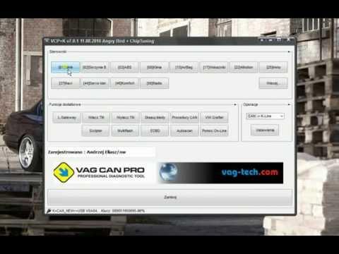 pcr2 1 vcp status unlock and programming vag can pro pcr. Black Bedroom Furniture Sets. Home Design Ideas