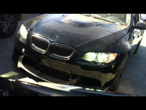Bmw 335i To M3 Conversion Exhaust Hks Bov Youtube