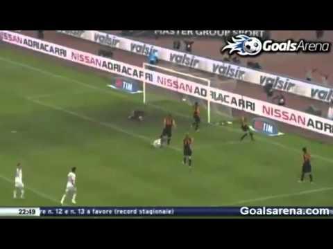 Bari - Roma (2-3) - Ampia Sintesi - All Highlights & Goals / 01-05-2011 / Calcio