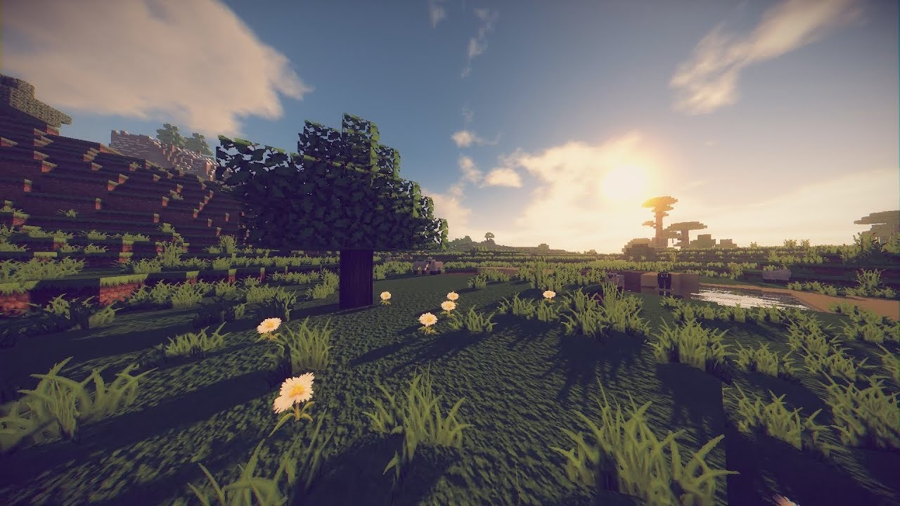 Minecraft Cinematic - Arcane Shaders - Chroma Hills 128x POM & PBR