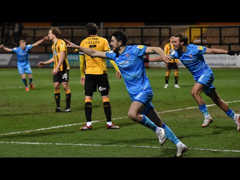 Cambridge Utd Cheltenham Goals And Highlights