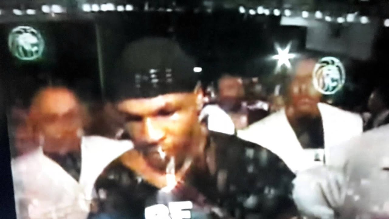 Mike tyson intimidating entrance