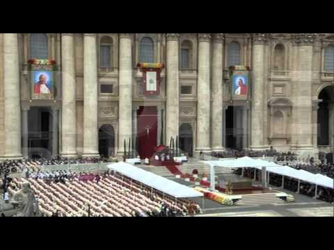 Pope Francis homily for canonization Mass
