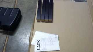 Ikea Lack Cofee Table Build Tutorial