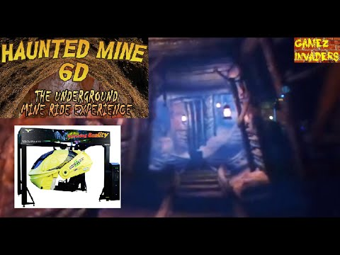 Mini Rider 2: HAUNTED MINE RIDE Arcade Ride Em Up |