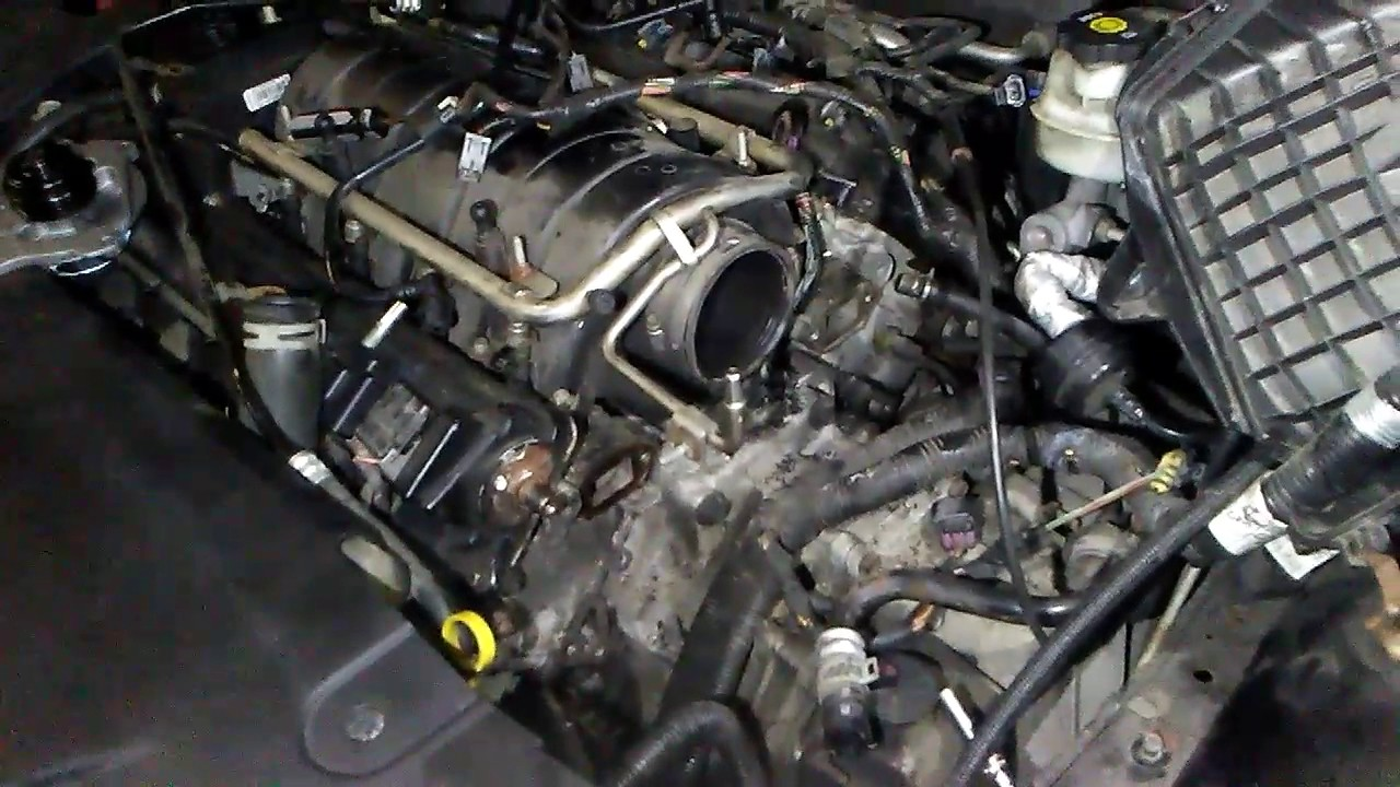 [DIAGRAM_1CA]  2006 Buick Lucerne Northstar engine water pump. It's out! - YouTube | 2006 Buick North Star Engine Diagram |  | YouTube