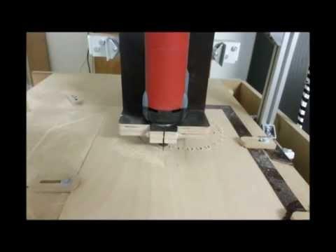 eigenbau cnc fr se zahnrad fr sen diy cnc router gear milling youtube. Black Bedroom Furniture Sets. Home Design Ideas