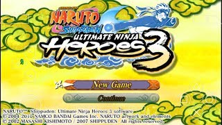 Cara Download Game Naruto Shippuden Ultimate Ninja Heroes 3 PPSSPP Android