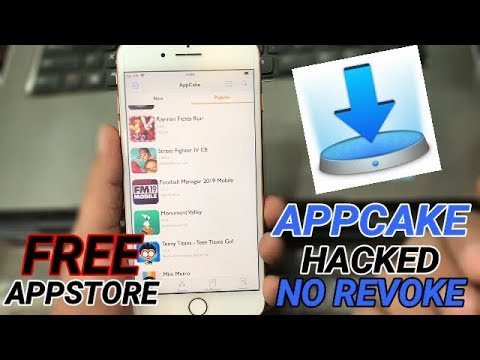 How To GET AppCake Working On iOS 12! Best Hacked Games & Paid Apps *NO  REVOKE* unc0ver Jailbreak