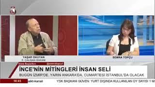 Gambar cover Yaşar OKUYAN; Cumhur İttifakı çıkar ittifakı   21 Haziran 2018
