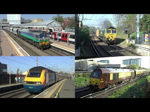 """Day Out to West Hamstead, NLL, GWML, Windsor, Heathrow & Feltham"" 20/04/18"