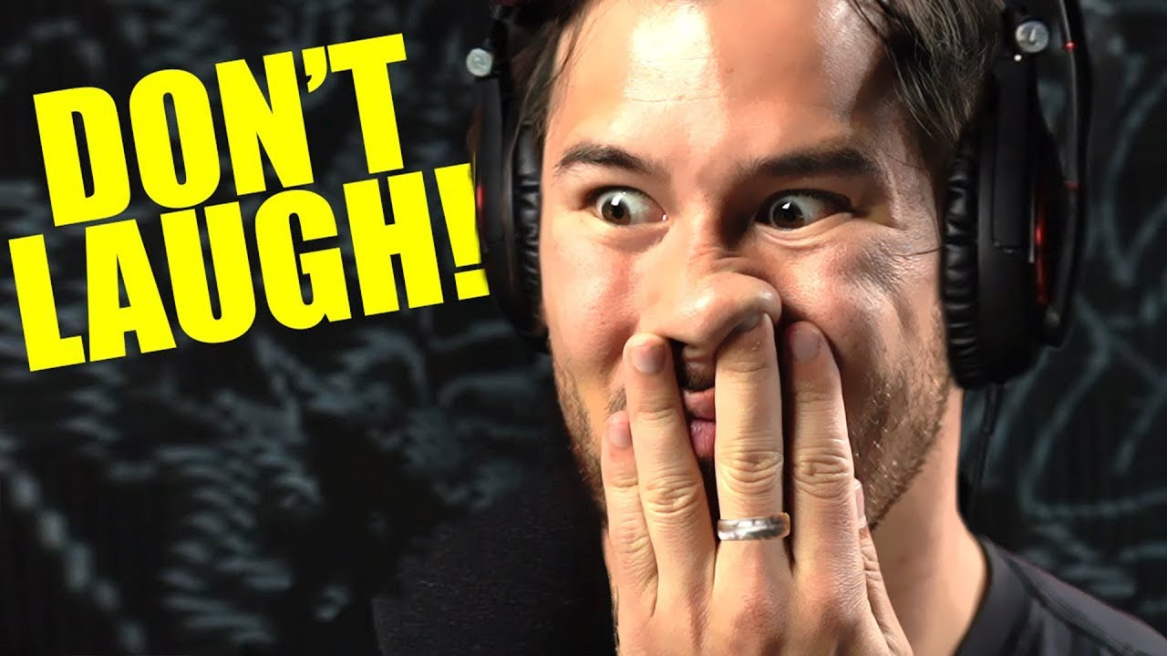 Try Not To Laugh Challenge #16 - YouTube Markiplier Try Not To Laugh